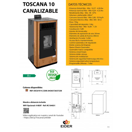 INSERT 12 kW CANALIZABLE
